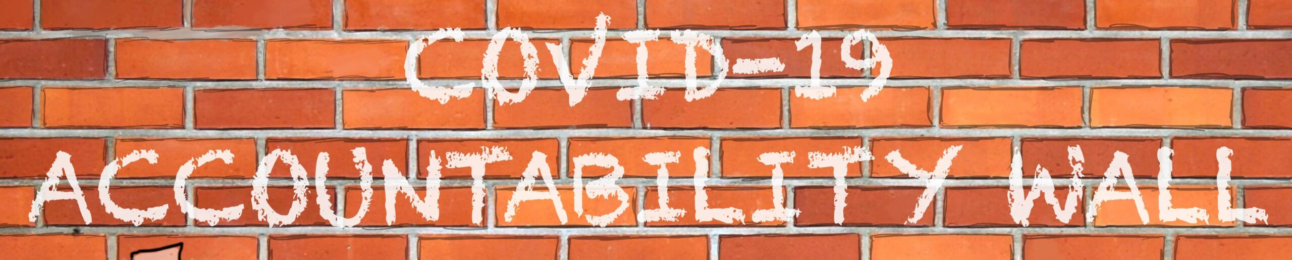 "Image reading ""COVID-19 Accountability Wall."""